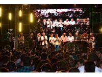 Manavgat Şelalesi Manga konseriyle açıldı