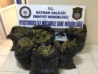 Batman'da 45 kilogram uyuşturucu ele geçirildi.