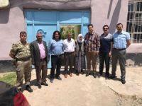 Başkan Gülenç'ten umreden dönen şehit ailesine ziyaret