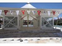 Büyükşehir Halfeti'de sosyal ve spor tesislerin yapımını tamamladı