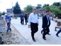 Talas'ta asfalt çalışmaları devam ediyor