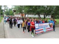 Edirne'de düzenlenen yürüyüşle obeziteye dikkat çekildi