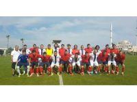 İşitme Engelli Futbol Milli Takımı, Olimpiyatlara Manavgat'ta hazırlanıyor