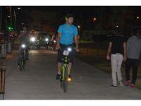 Bergamalı bisikletliler Aliağa'da