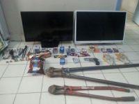 Polis dükkan farelerini başarılı takiple yakaladı