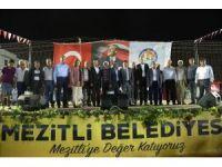 Mezitli Belediyesi, Örtü Altı Üzüm Festivali düzenledi