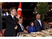 Başkan Ataç medikal destek yemeğine katıldı
