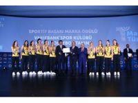 VakıfBank'a 'Sportif Başarı Marka Ödülü' verildi