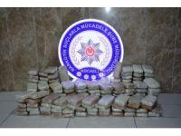 Kocaeli'de yolcu otobüsünde 110 kilogram eroin yakalandı