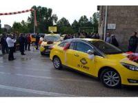 Isparta'da yenilenen taksiler şiddet gören kadına da yardımcı olacak