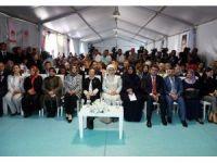 """Emine Erdoğan """"Bir Umut, Bir Ufuk"""" projesinin açılış programına katıldı"""