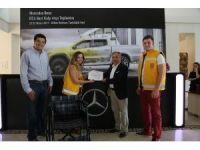 Bodrum Belediyesi'ne tekerlekli sandalye bağışlandı