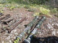 """TSK: """"Uludere'de tanksavar füzeleri ve mühimmat ele geçirildi"""""""