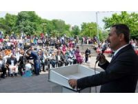 Başkan Uysal'dan LÖSEV'e yer sözü verdi