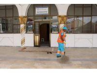 Kuşadası'nda Camiler Ramazan için temizlendi