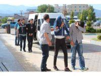 Kırıkhan'da hırsızlık şebekesi çökertildi