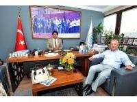 Zonguldaklı dostlar Foça'yı ziyaret etti