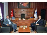 Trakya Kalkınma Ajansı Genel Sekreteri Şahin'den Rektör Şengörür'e ziyaret