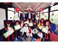 Mobil anaokulu 2017 mezunlarını verdi