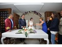 Başkan Uysal, Meclis Üyesi Kotan'ın nikahını kıydı