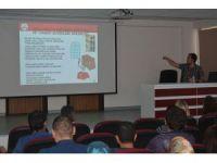 Osmaneli'de yangın eğitimi