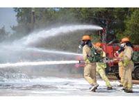 18 ülkeden 35 ormancı Mersin'de yangın tatbikatı yaptı
