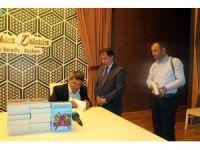 Yazar Nafi Çağlar, Sultangazi'de kitapseverlerle buluştu