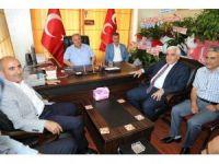 MHP İl Başkanı Mısırlıgil'e AK Partililerden ziyaret