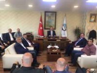Çaturoğlu'ndan Vali Kaban ve TSO'ya ziyaret