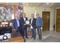 Başkan Yaman'a AK Parti teşkilatından ziyaret