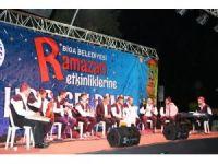 Biga'da Ramazan etkinlikleri