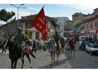 Tokat'ta atlı Fetih yürüyüşü yapıldı