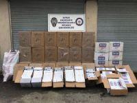 Batman'da 43 bin 310 paket kaçak sigara ele geçirildi