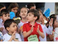 Ramazanın ilk iftarını çocuklar açtı