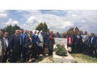 Gül Sazak ölüm yıl dönümünde anıldı