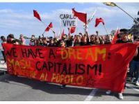 G7 zirvesi protestosuna polis müdahalesi