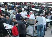 Bitlis'te ilk iftar yapıldı