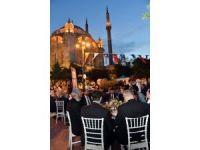 Ortaköy Meydanı'nda ilk iftarlar açıldı