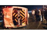 Başkent'te 10 araç birbirine girdi: 7 yaralı