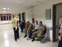 Hastaneye kaldırılan askerler taburcu edildi