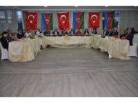 Kars'ta Azerbaycan Cumhuriyeti'nin 99. kuruluş yıldönümü