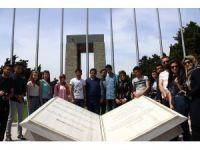 ERÜ'lü Yabancı Öğrenciler Çanakkale'ye Hayran Kaldı