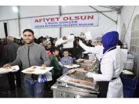 Ankara Büyükşehir Belediyesinin, binleri buluşturan iftar sofraları