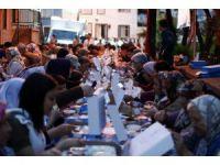 Konak'ta ilk iftar sofrası Yeşiltepe'de kuruldu