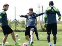 Konyaspor'da kupa maçı hazırlıkları