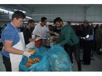 Nevşehir'de ilk iftar heyecanı yaşandı