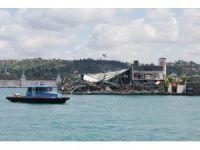 Galatasaray Adası'nda yıkım çalışmaları sona erdi