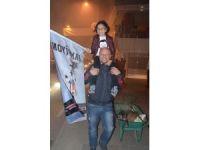 Zonguldak'ta meşaleli şampiyonluk kutlaması