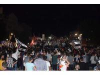 Beşiktaş'ın şampiyonluğu Malatya'da kutlandı