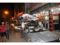 Cizre'de Beşiktaş'ın şampiyonluk sevinci